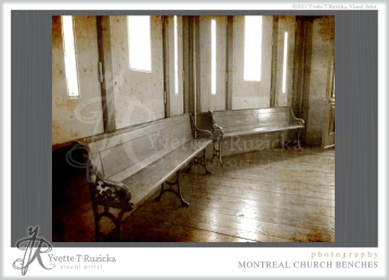 montreal church benches