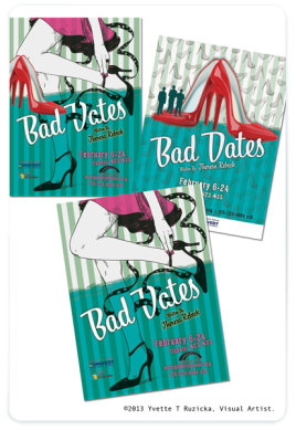 Bad Dates Theatre Poster