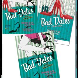 Bad Dates Theatre Poster